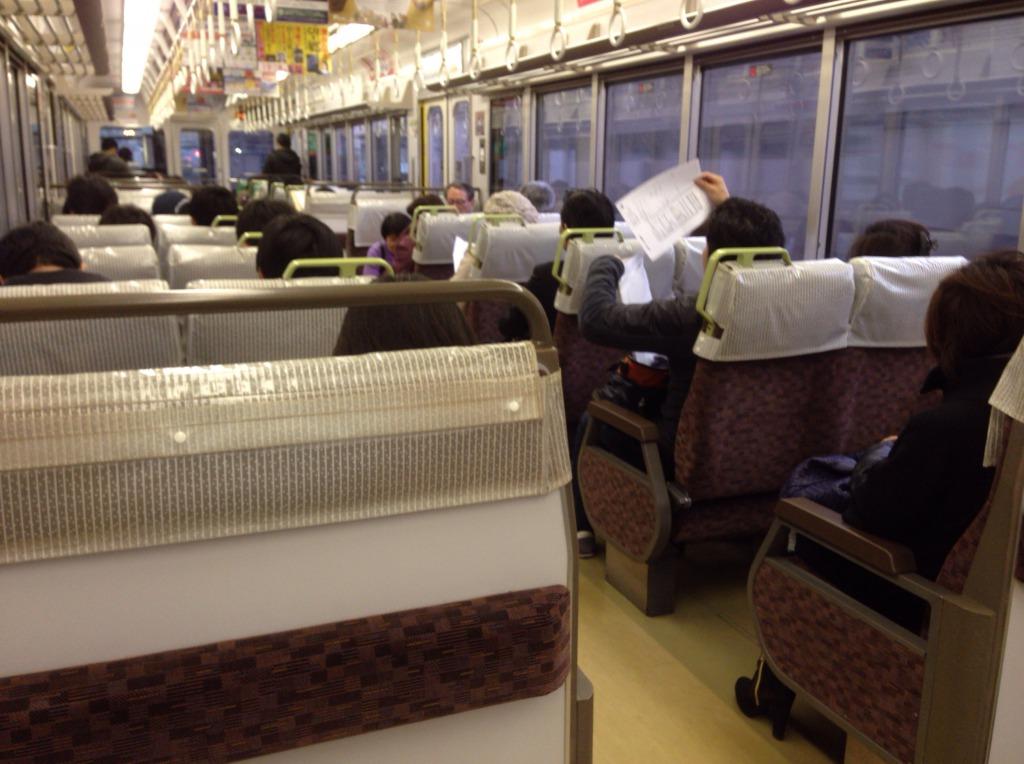西明石以西に行く普通列車